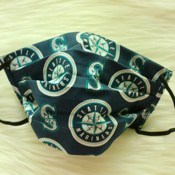 Seattle Mariners Mlb Face Mask Washable In 2020 Seattle Mariners Face Mask Buster Posey