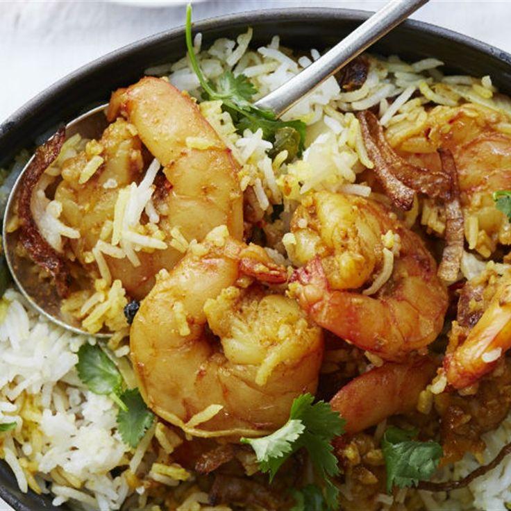 Try this Malabar Prawn Biryani recipe by Chef Anjum Anand .