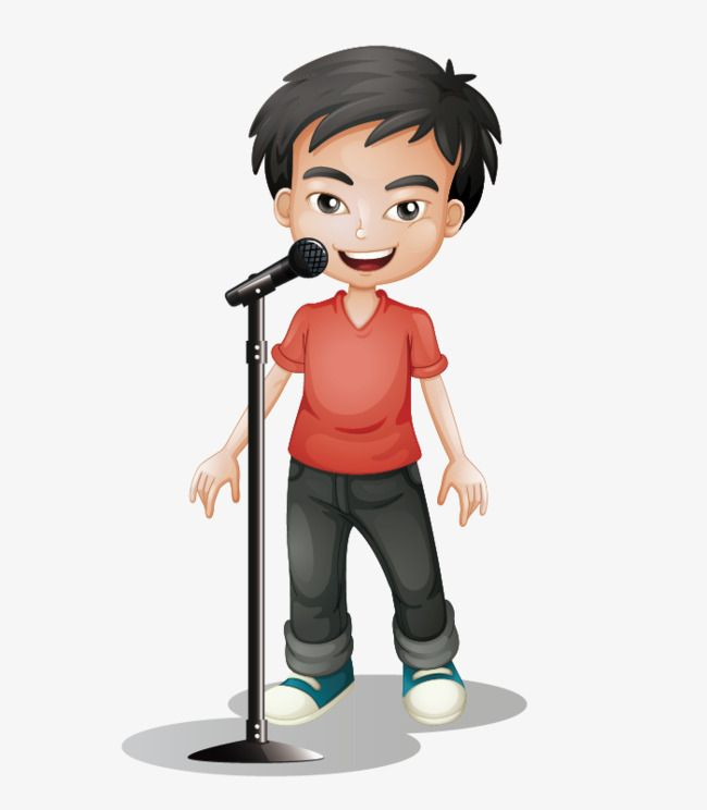 Cartoon Hand Painted Little Boy Singing Cartoon Clipart Boy Clipart Cartoon Characters Png Transparent Clipart Image And Psd File For Free Download Cartoon Clip Art Kids Clipart Cartoon