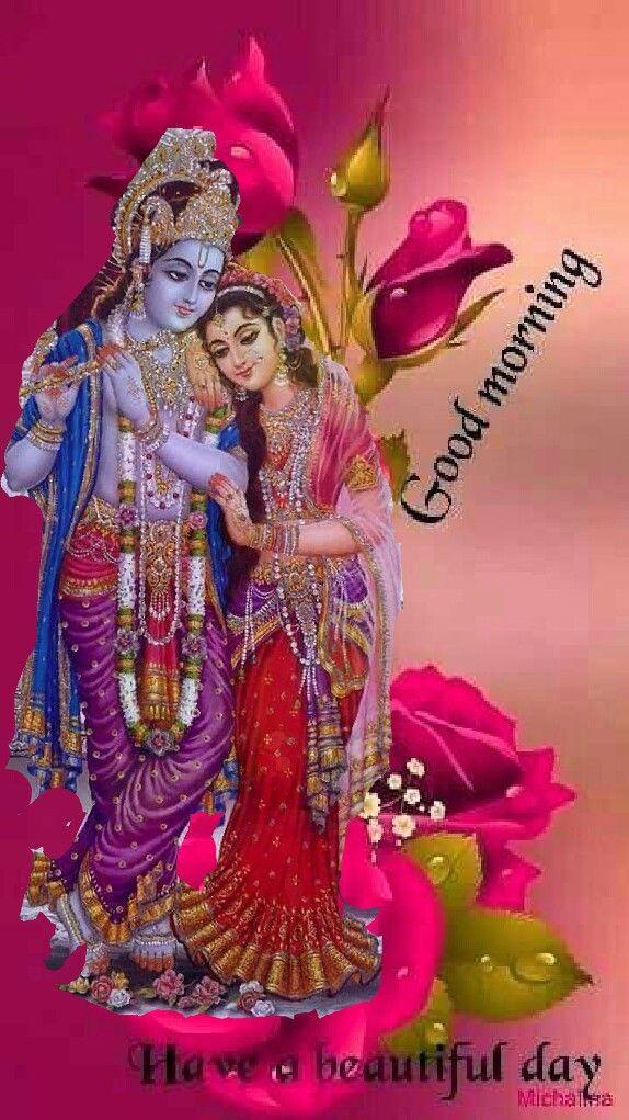 Pin By Mihir Roy On Good Morningnight Etc Good Morning Krishna