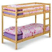 Pine Twin Shorty Bunk This Pine twin Shorty bunk bed comes in natural pine finish and requires self assembly. http://www.comparestoreprices.co.uk/bunk-beds/pine-twin-shorty-bunk.asp