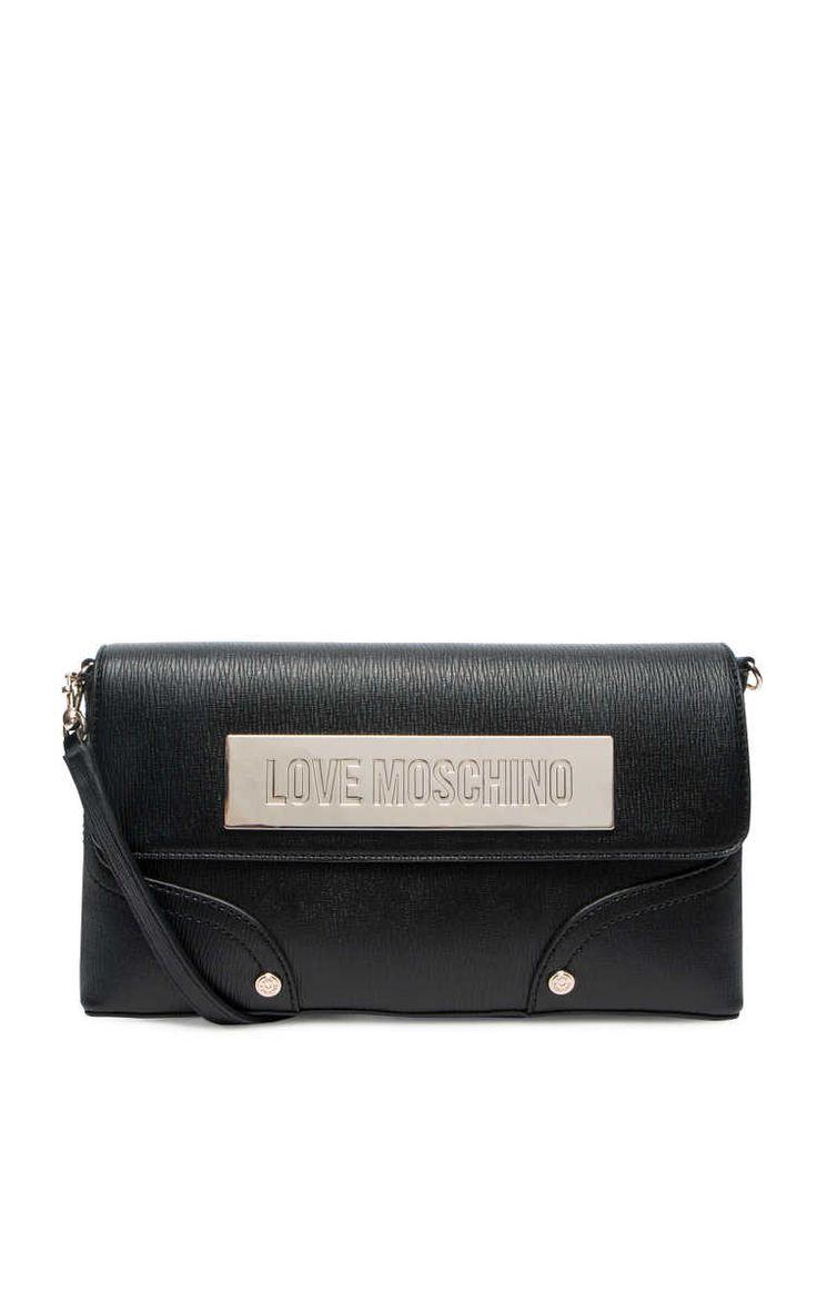 Handväska JC4026PP11LB0000 BLACK/GOLD - Love Moschino - Designers - Raglady