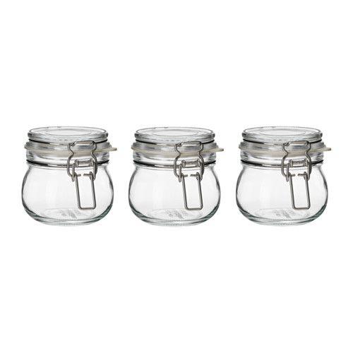 KORKEN Glas med låg - IKEA