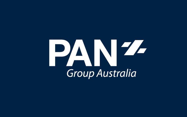 PAN Group an Australian corporate company located in Melbourne Australia.  By Logoland Australia.  #logodesignmelbourne #financiallogo #logodesign