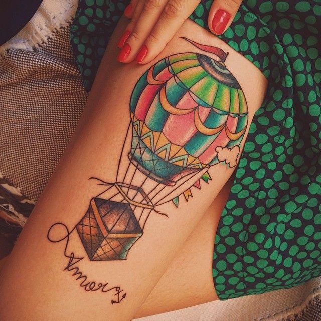 #balloon #tattoo #balao