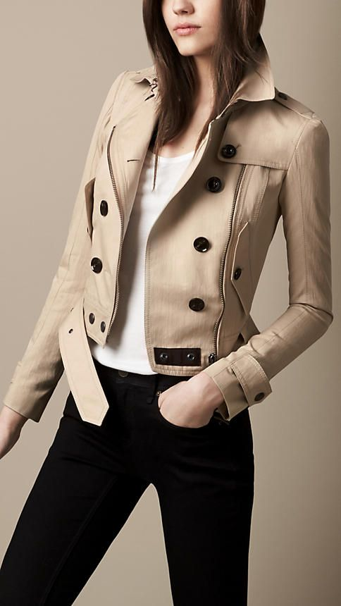 Studded Undercollar Trench Jacket | Burberry