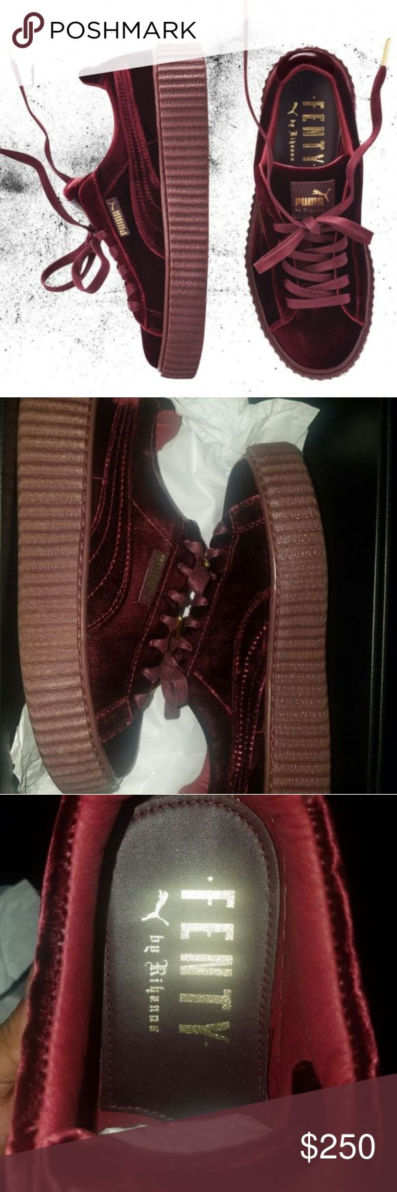 Fenty by Rihanna royal velvet creepers SOLD Puma Shoes Sneakers