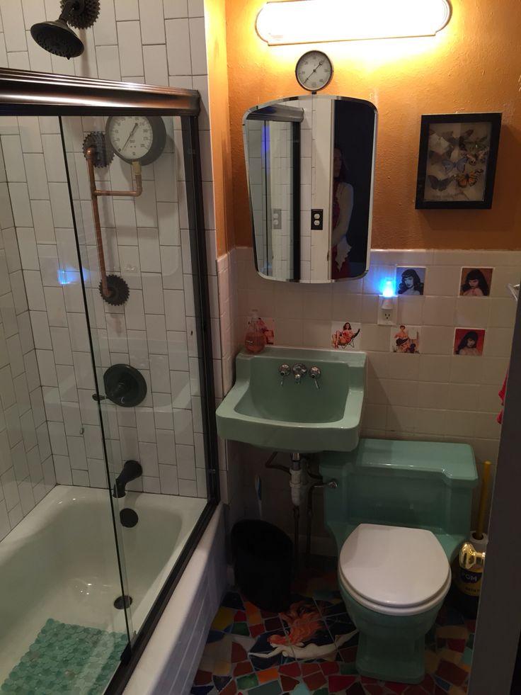 Steampunk Tiny Bathroom Bathroom Pinterest Hipster