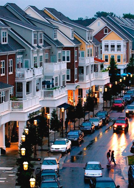 Representing genuine expressions of town building and urban living, Huntersville, NC's Birkdale
