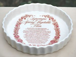 White 8.5 inch PIE PLATE T.G. Green LTD Church Gresley Made In ENGLAND Epicure  | eBay