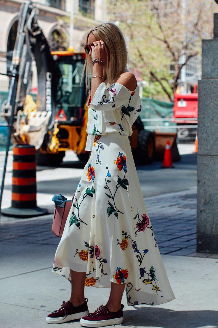Bella Floral Cut Out Shoulder Dress