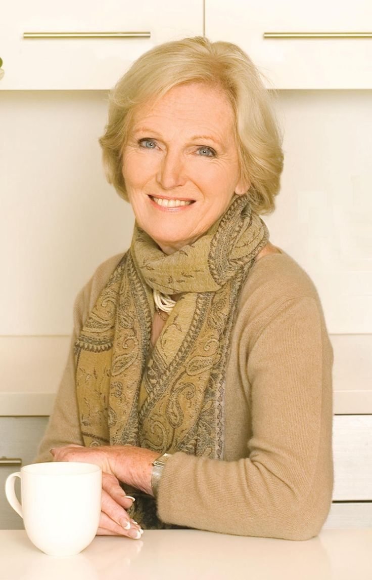 I agree with previous pinner: Mary Berry ~ great cook and very lovely lady. Queen of cookery and easily my favourite baker.