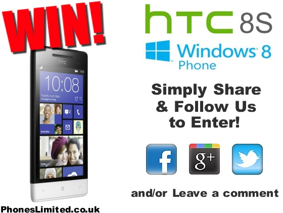 April #Competition - #WIN an 8S Windows Phone by HTC
