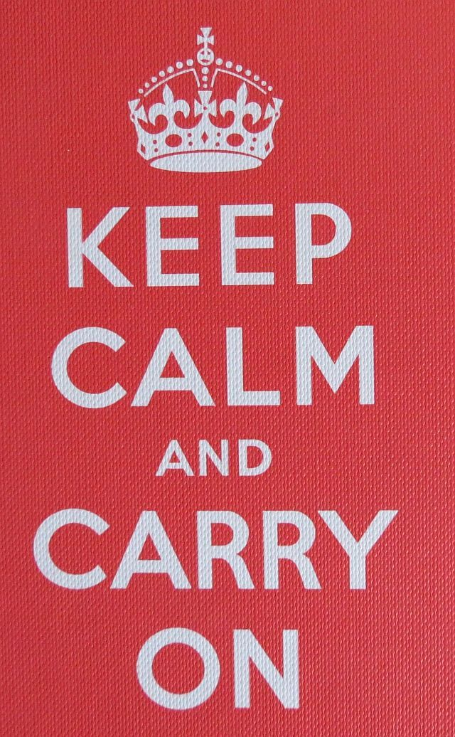 best stay calm quotes | keep calm & carry on