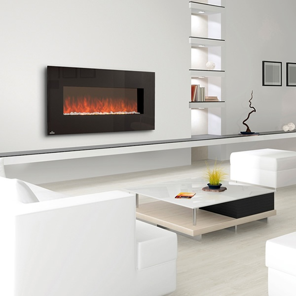 24 best wall mounted fireplaces images on pinterest for 24 wall mount electric fireplace
