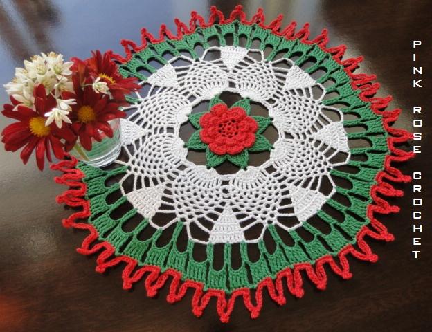 33 best Crochet Christmas Doilies images on Pinterest | Crochet ...