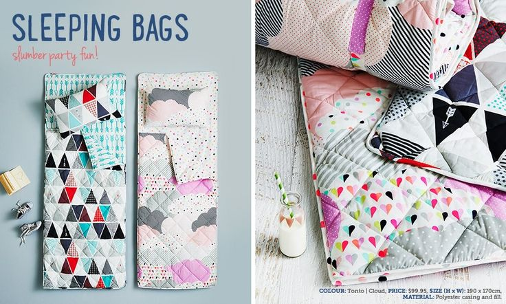 Loving this geometric designed quilted cover form Adairs Kids