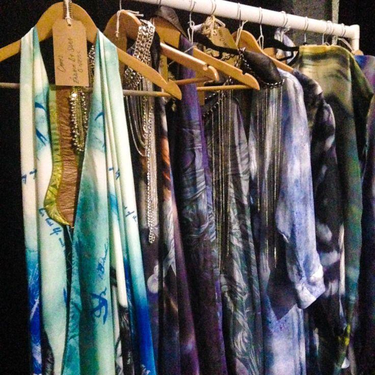 Éadach silks backstage at Belfast Fashion Week