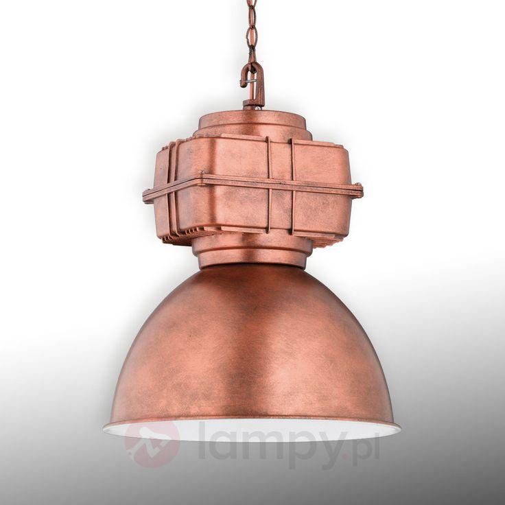 Lampa wahadłowa Maniac w kolorze miedzi 9005092