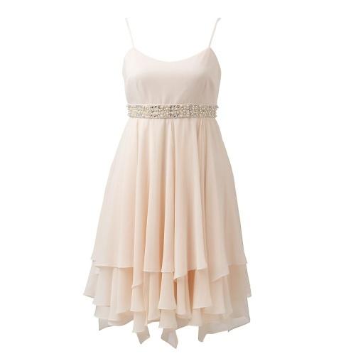 SHEENA EMBELLISHED BABYDOLL DRESS