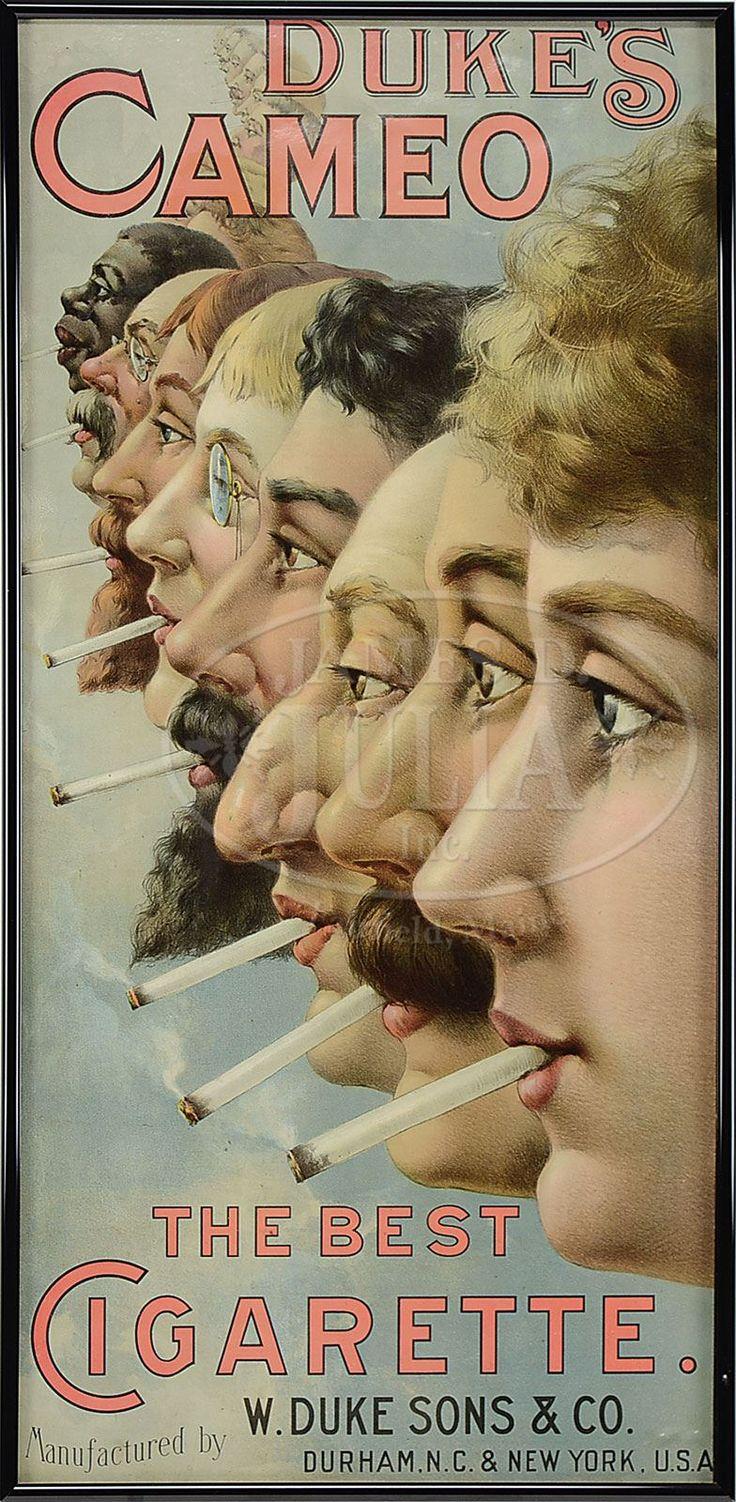 Duke's Cameo Cigarettes