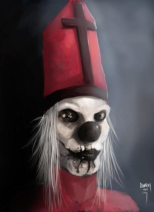 evil clown | Tumblr