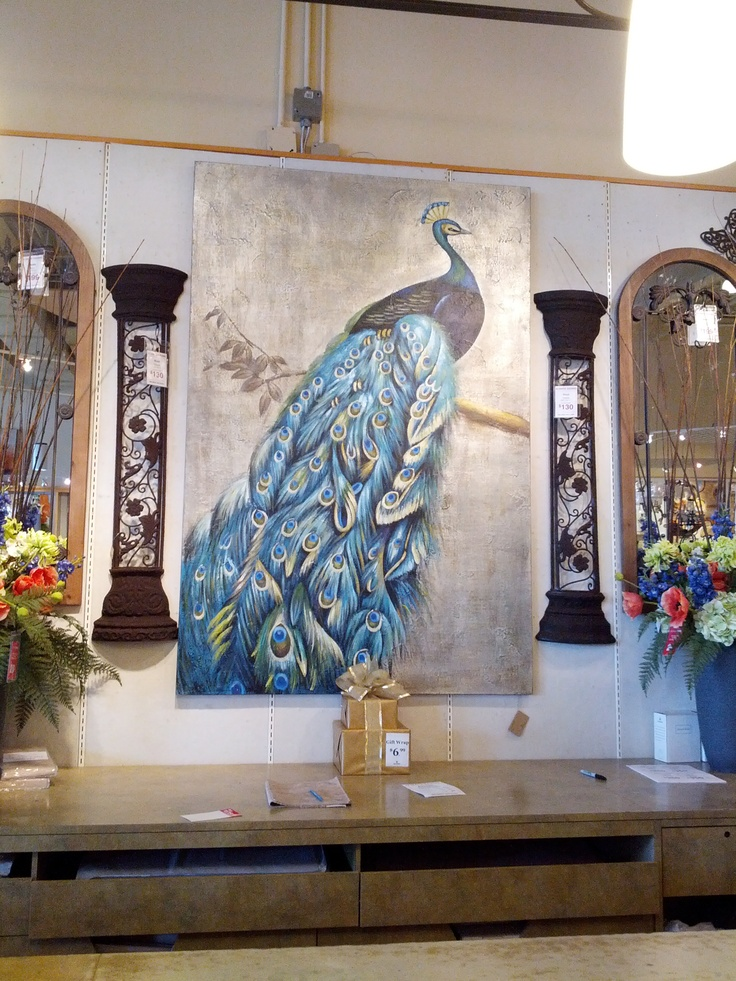 lovely peacock painting from bowring
