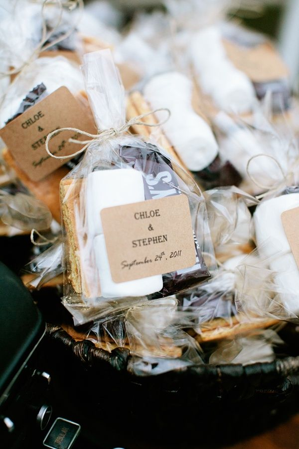 21 Must See Fall Favors Beau Coup Blog Kids Wedding Favors Smores Wedding Favors Gifts For Wedding Party