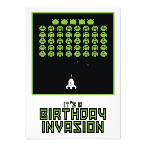 20 best Video Game Party Invites images on Pinterest Video game - fresh birthday invitation video templates