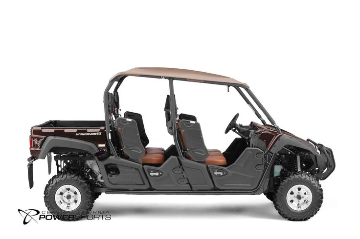 New 2017 Yamaha Viking VI EPS Ranch Edition ATVs For Sale in Florida. 2017 Yamaha Viking VI EPS Ranch Edition, The Viking VI EPS Ranch Edition sets the standard in comfort and convenience with true six passenger luxury in a quieter and smoother riding machine . Room for Six Torquey 700-Class Engine High Volume Intake Responsive and Reliable Ultramatic® Transmission On-Command® 4WD Roomy Cabin and Cargo Capacity Ranch Edition Features Come to Central Florida PowerSports, your favorite  New…