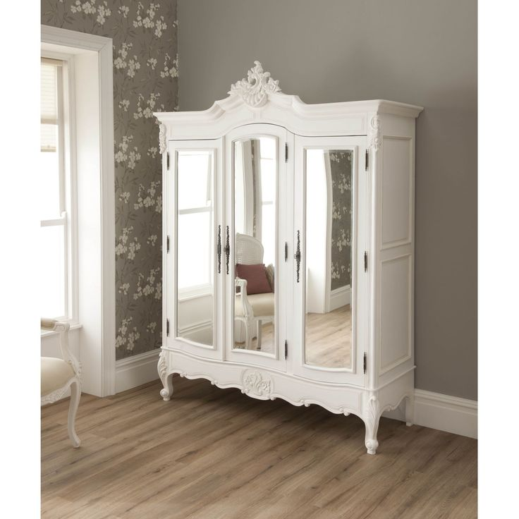 This Exeptional New La Rochelle Antique French Style Wardrobe Is A Welcomed  New Addition To Our Range Of Bedroom Furniture