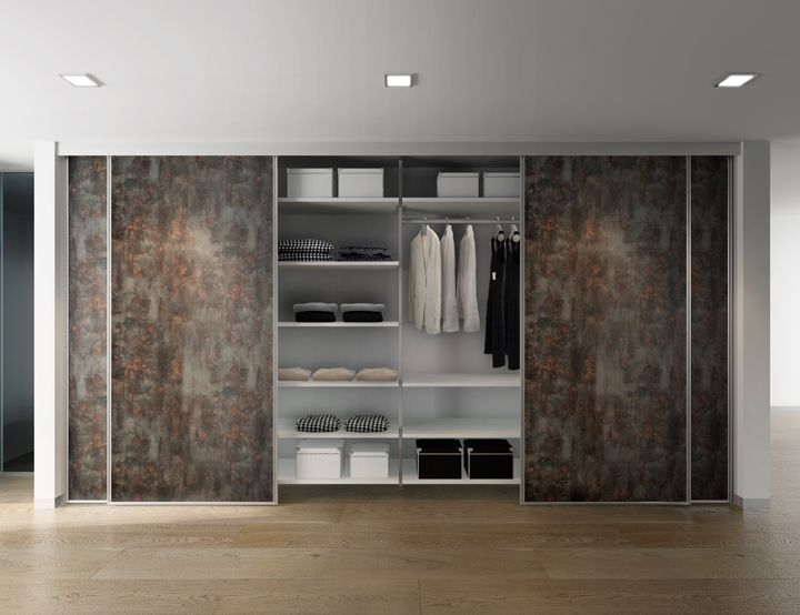 Sliding doors system to contain and divide spaces Aliante by De Rosso