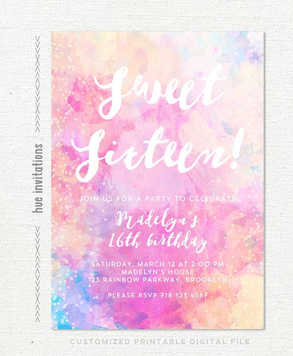 Best 25 Elsa birthday invitations ideas – 17th Birthday Party Invitations