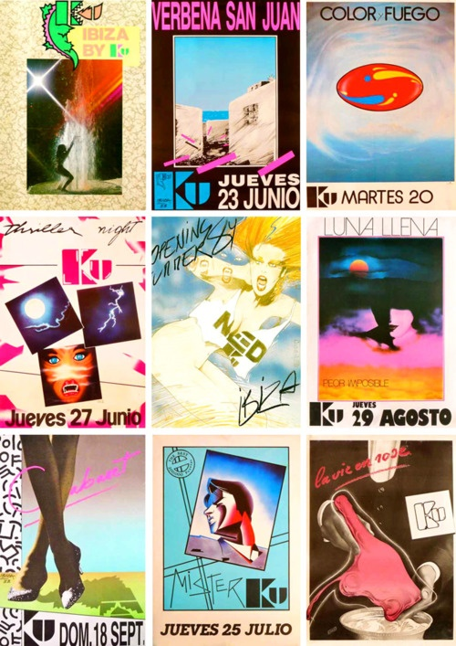 old ibiza posters