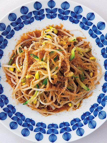 【ELLE a table】豆もやしときゅうりの温サラダレシピ|エル・オンライン