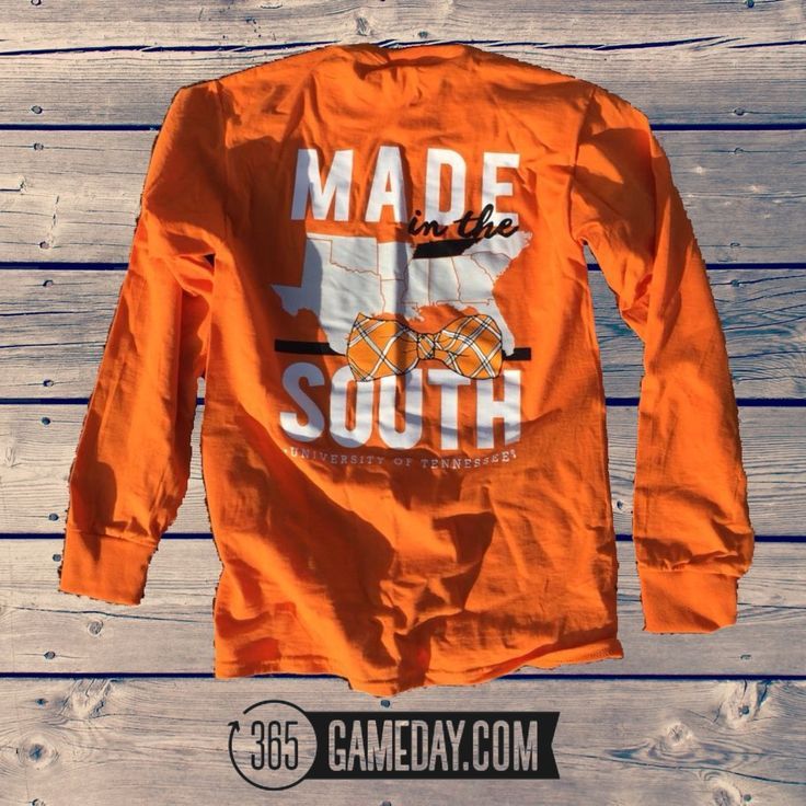 """Vols """"Made in the South"""" Orange"""