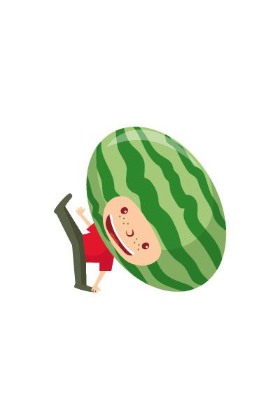 Watermellon Kid Vector #watermellon #vector #fruits #handdrawvector http://www.vectorvice.com/fruit-kids-vector-pack