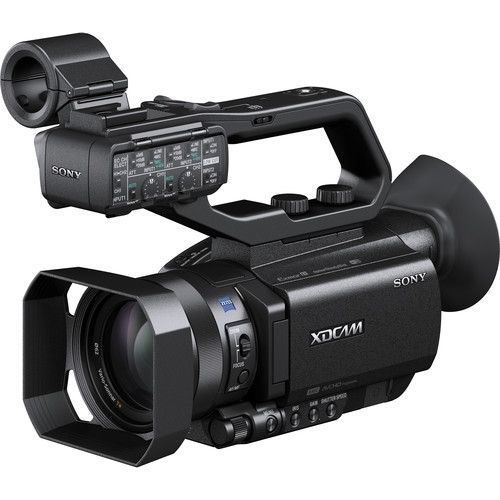 Sony's PXW-X70 Professional XDCAM Compact Camcorder is about the same size as a conventional 1/3-inch professional compact camcorder, but it features a 1-inch type sensor, which is larger than a super