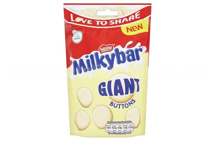 Giant Milky Bar Buttons! Amazing.
