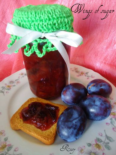 Confettura di prugne, ricetta Plum jam