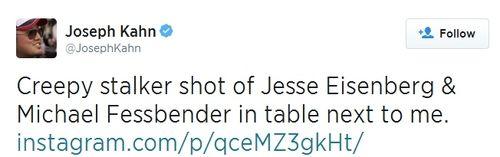Michael Fassbender Latinoamérica: Joseph Kahn paparazzeo a Fassy!