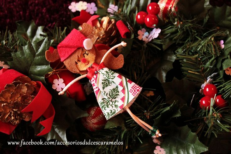 Quecas de Fieltro  / Dolls felt elf rudolf mod23 http://accesoriosdulcescaramelos.blogspot.com.es/search/label/Mu%C3%B1ecas%20%28Quecas%20de%20Fieltro%29