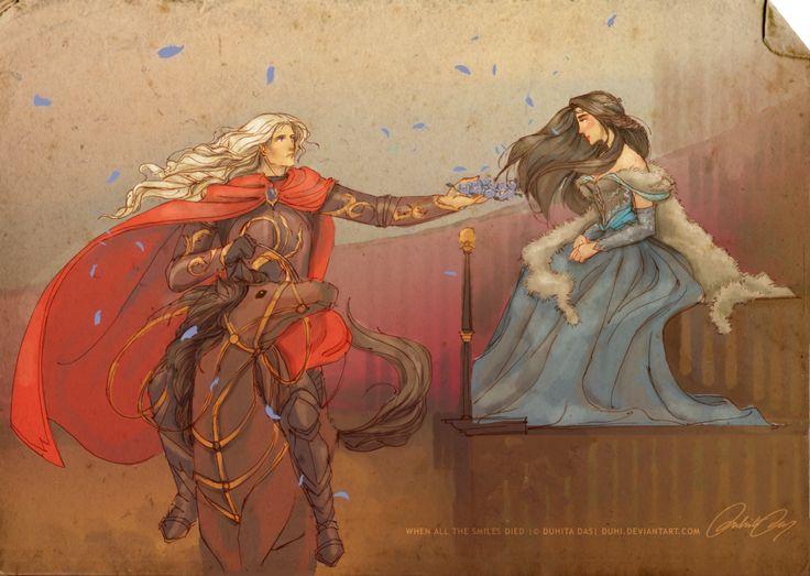 When All the Smiles Died by duhi on DeviantArt Lyanna Stark  and Rhaegar Targaryen