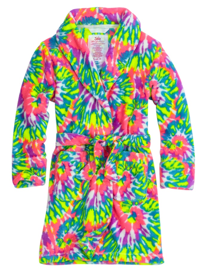 Super Soft Fleece Tie Dye Robe   Robes   Pjs, Bras & Panties   Shop Justice