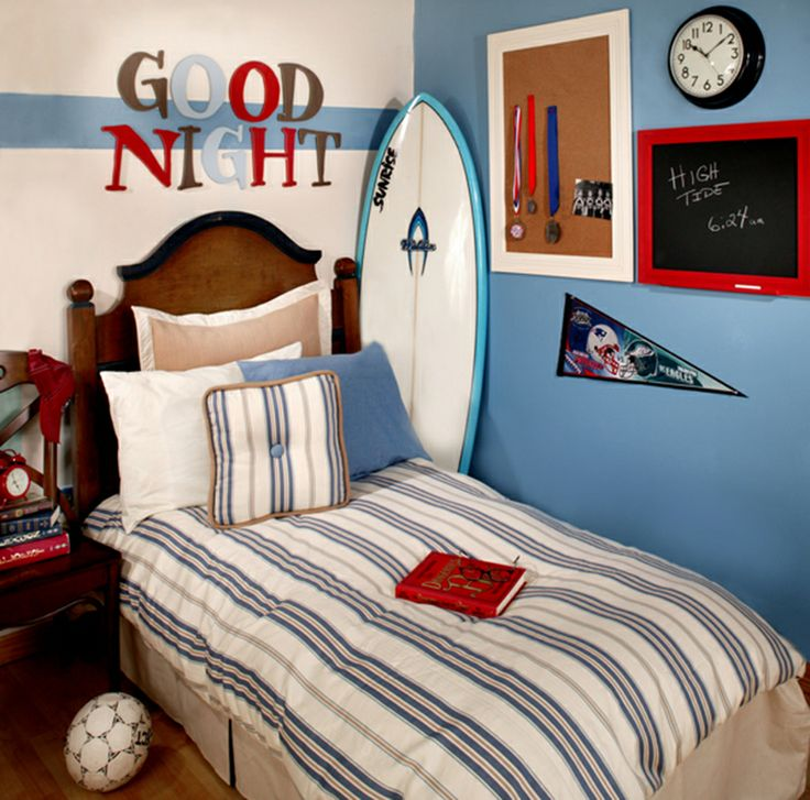 image detail for a surfer themed bedroom is a hot trend in kids rooms from vintage beach dcor to do it yourself surfer wall hangings we will show you