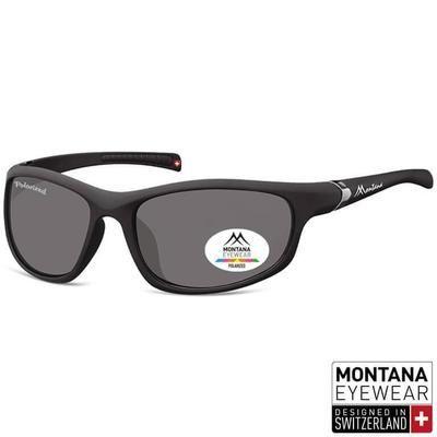 Γυαλιά Ηλίου Biker Montana Polarized Platinum SP310-BLACK-e-chap