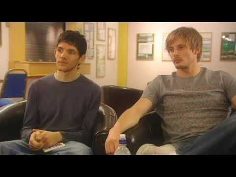 Bradley James & Colin Morgan - The Real Merlin and Arthur [1/3]