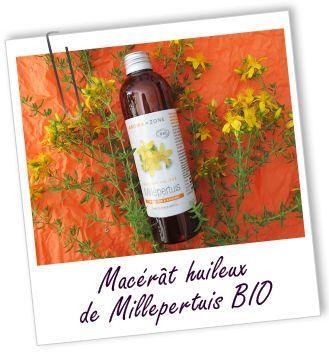 Macérât huileux Millepertuis BIO Aroma-Zone