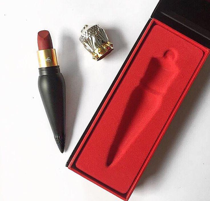 Louboutin lipstick | Such a beauty  #kisterss #louboutinlips #nyc #rougelouboutin