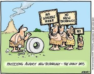 Why do people resist new technologies?
